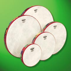 Remo Rainforest Hand Drum w/mallet 10