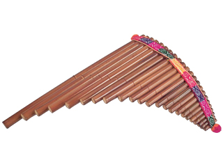 Andean Pan Pipe -  3 Octaves