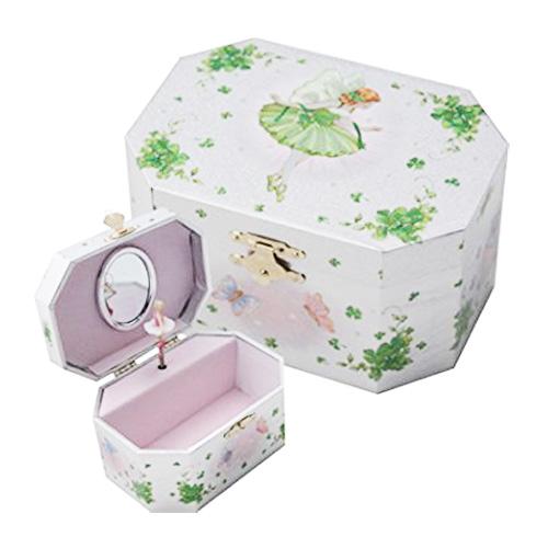 Irish Fairy jewelry music box