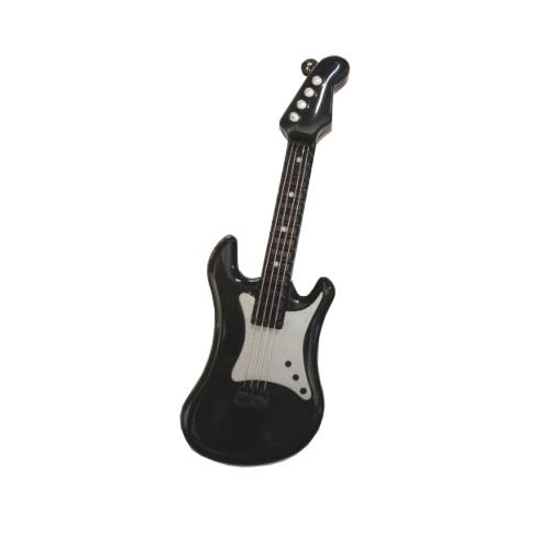 Keychain Mini Playable Musical Electric Guitar