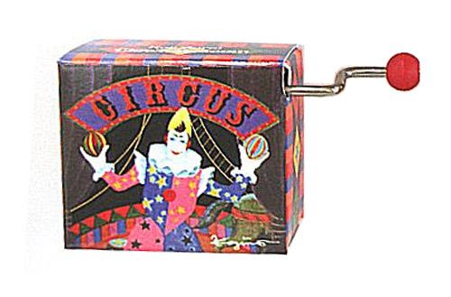 Koji Murai Crank Box Circus Clown