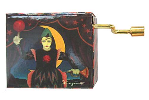 Koji Murai Crank Box Clown with Moon