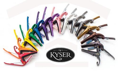 Kyser Capos in All Colors