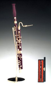 Miniature Bassoon and Case