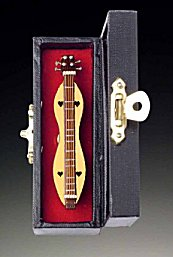 Miniature Dulcimer 3  with case