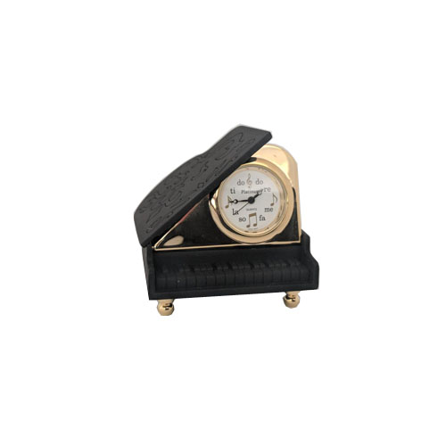 Baby Grand Piano Miniature Clock
