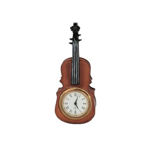 Miniature Cello Clock