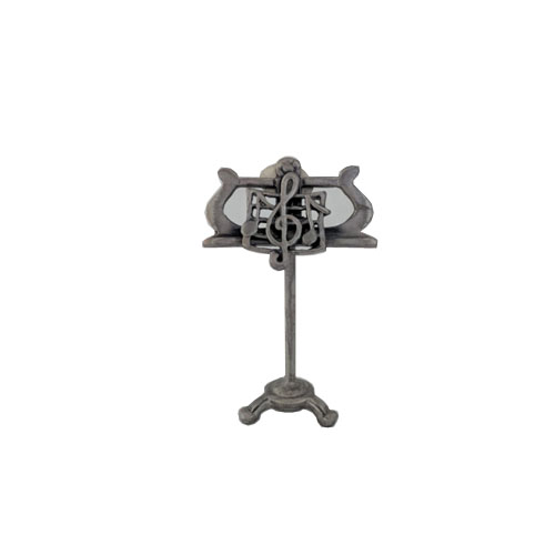 Miniature Pewter Music Stand