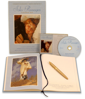 Solo Passages - Inspiring Journal and CD