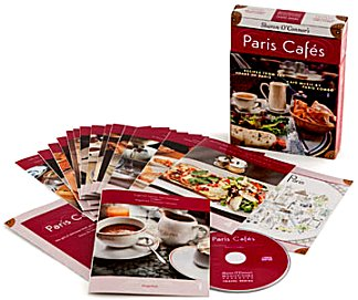 Music Cooks Travel Series -  Paris Cafes