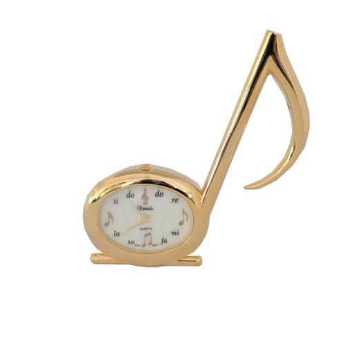 Music Note Miniature Clock
