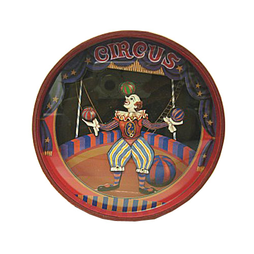Animated Musical Bank Clown Juggler