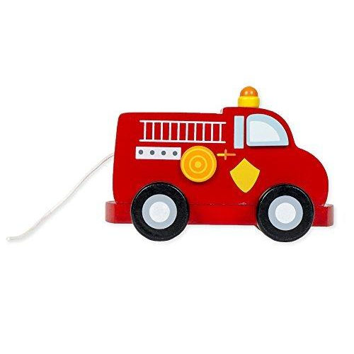 Fire Truck Pull String Musical by Musicbox Kingdom