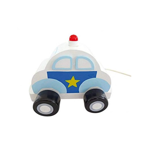 Police Car Pull String Musical by Musicbox Kingdom