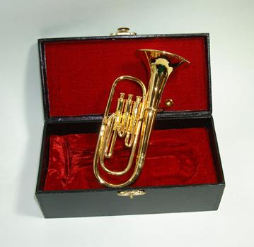 "Miniature 3.5"" baritone horn"