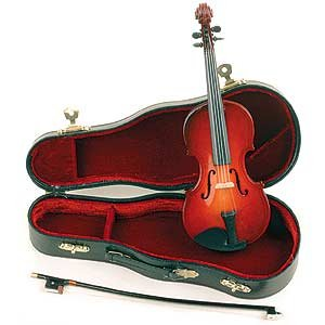 Musical Miniature violin