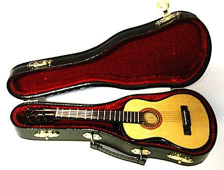 Miniature Guitar  Classical 7 3/4