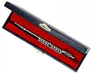 Miniature Flute 6 in Silver