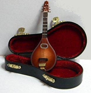 "7.5"" Miniature Mandolin"