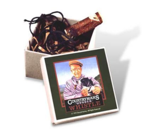 Countyman's Wooden Whistle in Gift Box by Flights of Fancy