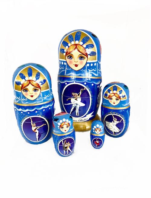 5 Piece Nesting Ballet Set