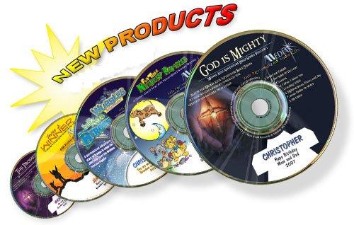 YOUR CHILDS NAME EMBEDDED IN  MEDIAK CD ALBUM