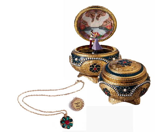 Anastasia's Necklace with Music Box