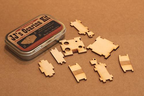 Ocarina Kit Pieces