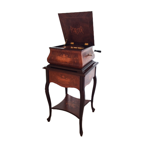 Porter Disc Player Music Box - The Swan Elite