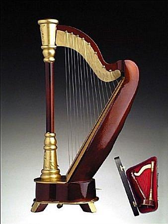 Harp  music box