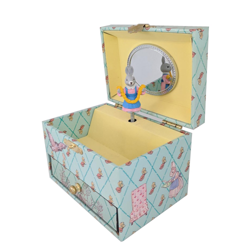 Jewelry Box with drawer Little Grey Rabbit