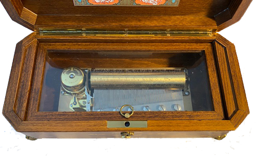Reuge Classical Music Box Interior View