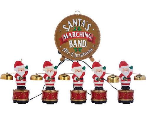 Santa Marching Band