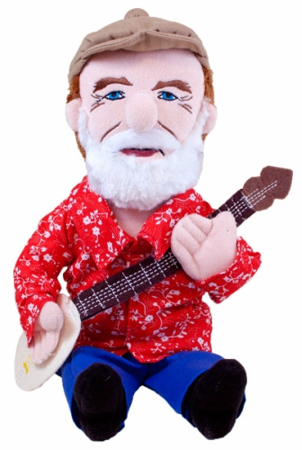 Pete Seeger Little Thinkers Plush Toy Doll