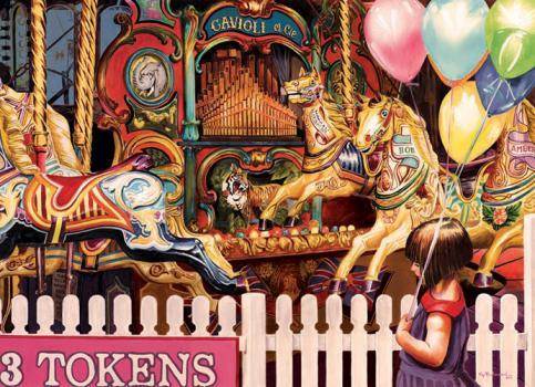 Carousel Ride Jigsaw Puaale