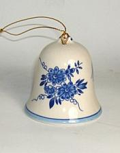 Delft Blue Bell Ornament