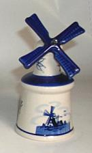 Windmill Bell in Delft Blue