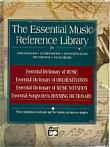 Boxed Set of Alfreds The Essential Music Reference Library