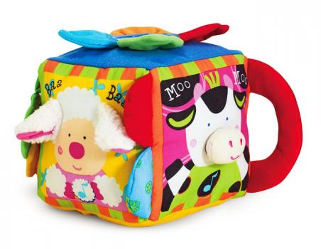 Melissa and Dougs Farm Yard Soft Cube Toy