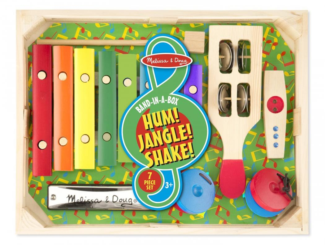 Bank in a Box Hum Jangle Shake by Melissa and Doug