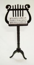 doll house furniture music stand