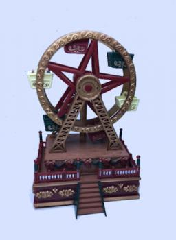 Christmas Ferris Wheel Music Box.Mini Musical Ferris Wheel By Mr Christmas