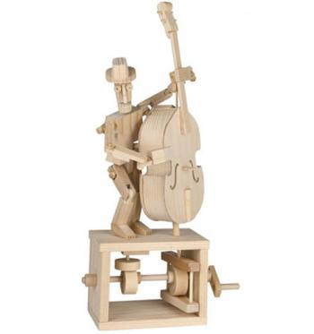 "Assembled ""Make Your Own"" Timberkit Double Bassist"