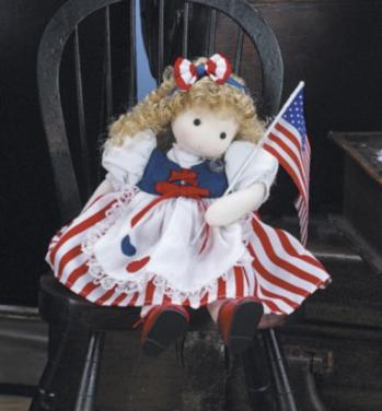 Name Your Own Musical American Doll