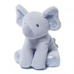 Plush Bubbles Elephant in Blue by Gund