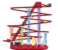 1939 World's Fair Musical Roller Coaster by Mr Christmas