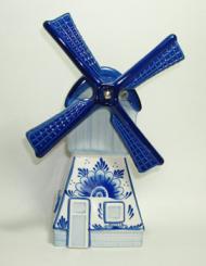 Windmill Delft Blue 8.5 inches