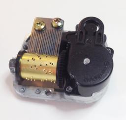 Sankyo Custom Black Single Mechanism