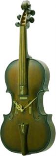 Violin Musical Wall Clock