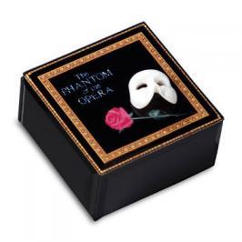 Phantom of the apera Mask and Rose Musical Glass Box